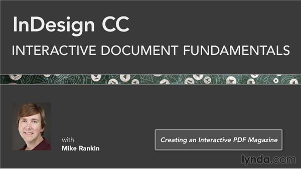 Next steps: InDesign CC: Interactive Document Fundamentals (2014)