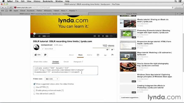 : Up and Running with Online Social Video