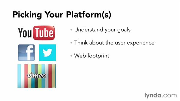 Choosing one or more platforms: Up and Running with Online Social Video