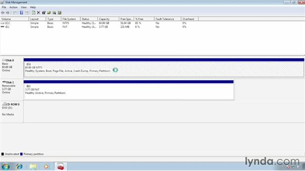 Creating a new partition for Windows 8: Migrating from Windows 7 to Windows 8
