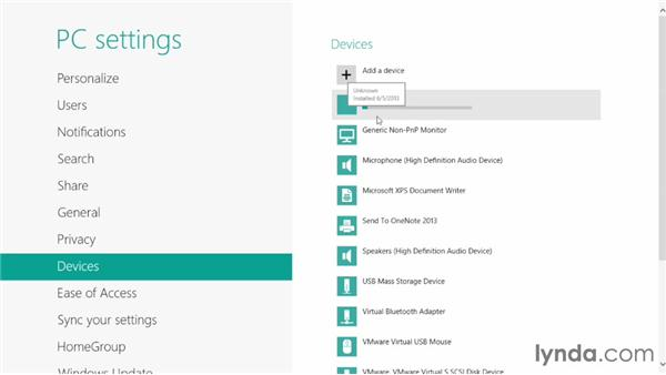 Connecting hardware devices: Migrating from Windows 7 to Windows 8