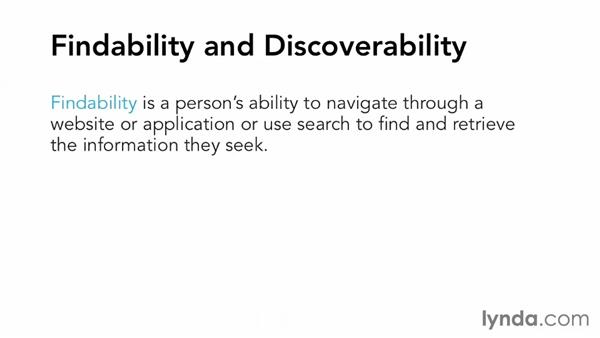 Finding and discovering: Applied Interaction Design