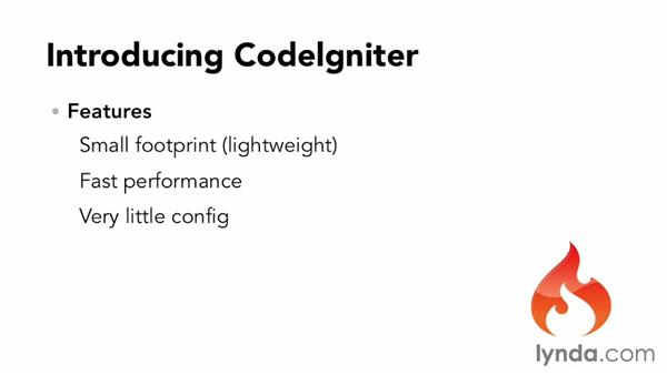 What is CodeIgniter and why should I use it?: Up and Running with PHP CodeIgniter (2013)