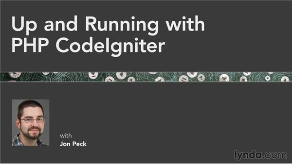 Farewell: Up and Running with PHP CodeIgniter (2013)