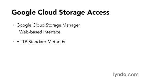 Overview of Google Cloud Storage: Up and Running with Google Cloud Platform (2013)