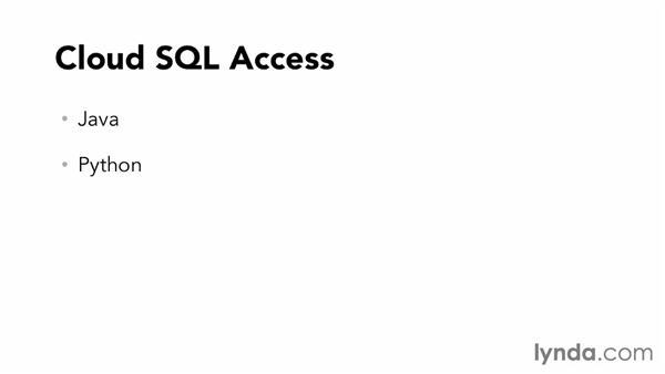 Understanding Google Cloud SQL: Up and Running with Google Cloud Platform (2013)