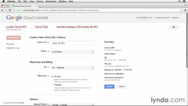 Managing instances: Up and Running with Google Cloud Platform (2013)