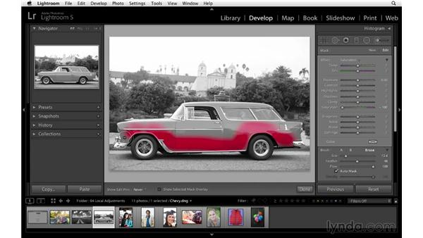 Creating a color-reduction effect: Lightroom 5 Essentials: 04 Develop Module Advanced Techniques
