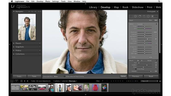 Improving shadows and highlights: Lightroom 5 Essentials: 04 Develop Module Advanced Techniques