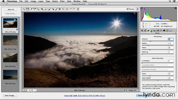 Comparing the Lightroom and Adobe Camera Raw workflow: Working with Raw-Format Photos in Lightroom 5 and Photoshop CC (2013)