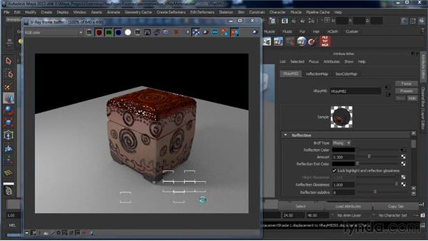 The V-Ray material: Learning V-Ray for Maya: A Professional Reference Guide