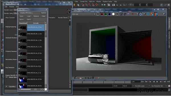 Brute force: Learning V-Ray for Maya: A Professional Reference Guide