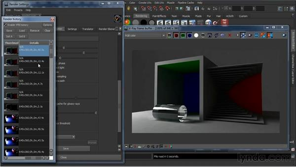 Light caching: Learning V-Ray for Maya: A Professional Reference Guide