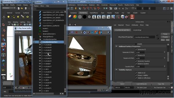What are V-Ray object properties (VROPs)?: Learning V-Ray for Maya: A Professional Reference Guide