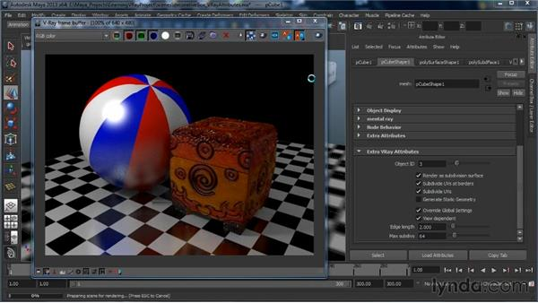 Extra object properties: Learning V-Ray for Maya: A Professional Reference Guide