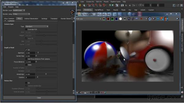 Cameras: Learning V-Ray for Maya: A Professional Reference Guide