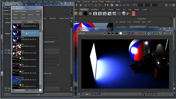 Color mapping: Learning V-Ray for Maya: A Professional Reference Guide