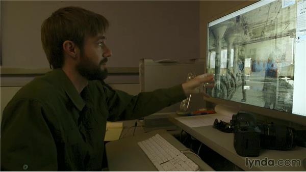 Compositing a Then and Now: The Creative Spark: Brian Kaufman, Visual Journalist