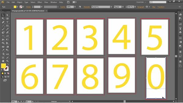 Autoarranging artboards: Illustrator CC 2013 One-on-One: Fundamentals