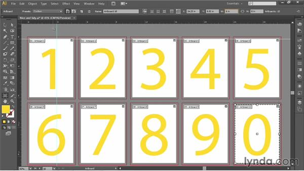 Artboards and rulers: Illustrator CC 2013 One-on-One: Fundamentals