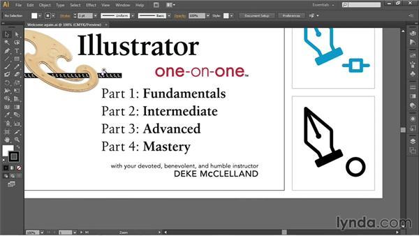 Navigating your artwork: Illustrator CC 2013 One-on-One: Fundamentals