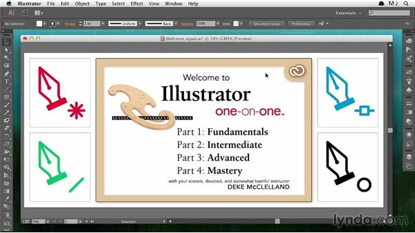 Macintosh interface differences: Illustrator CC 2013 One-on-One: Fundamentals
