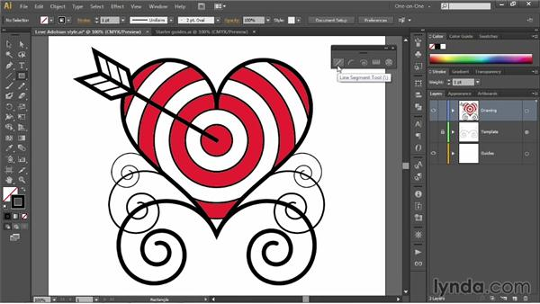 Meet the line tools: Illustrator CC 2013 One-on-One: Fundamentals