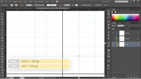Creating basic ruler guides: Illustrator CC 2013 One-on-One: Fundamentals