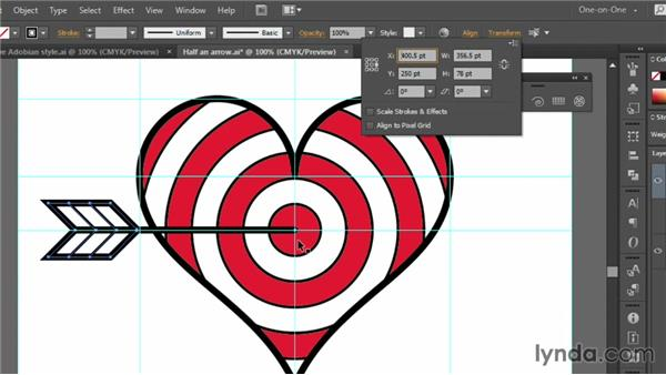 Rotating, filling, and stacking: Illustrator CC 2013 One-on-One: Fundamentals