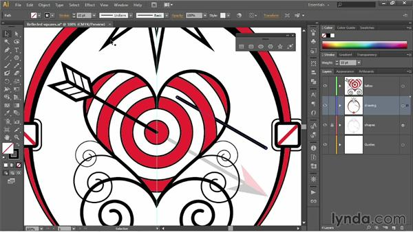 Modifying the constraint axes: Illustrator CC 2013 One-on-One: Fundamentals