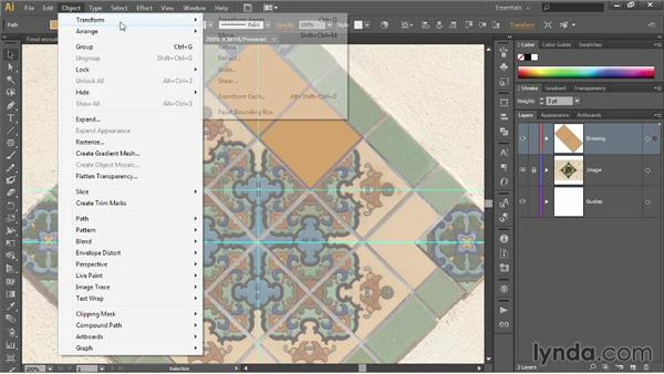 Dragging and duplicating: Illustrator CC 2013 One-on-One: Fundamentals