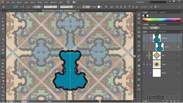 Using the Shape Builder tool: Illustrator CC 2013 One-on-One: Fundamentals