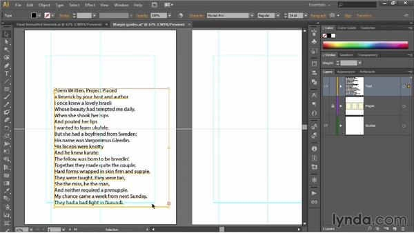 Placing and flowing text: Illustrator CC 2013 One-on-One: Fundamentals