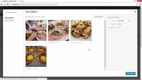 Tips on food blogging: Start with a Theme: Food Blogs in WordPress