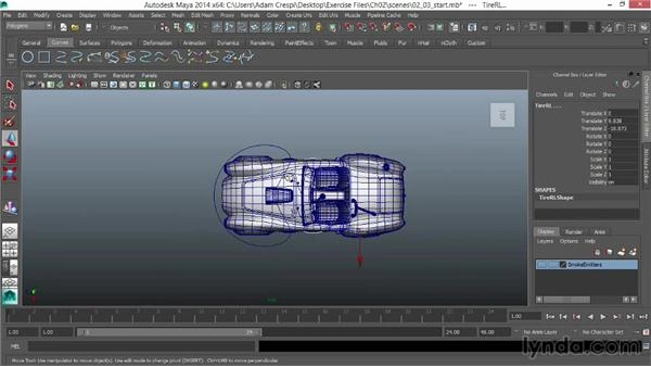 Creating steering body and master controllers for Truck design software