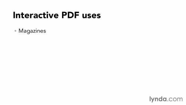 What is an interactive PDF?