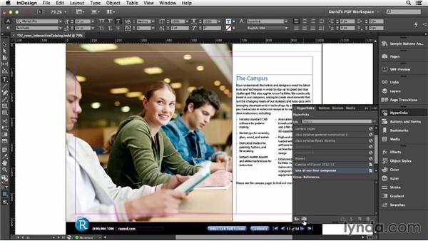 Page and anchor links: InDesign Insider Training: Interactive PDFs