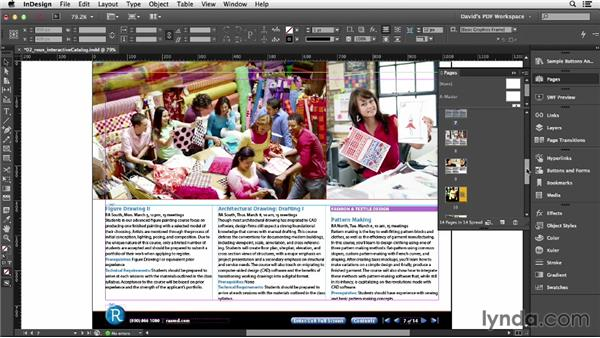 Creating bookmarks: InDesign Insider Training: Interactive PDFs