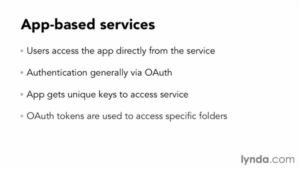 Classifying storage services: Up and Running with Cloud Storage APIs