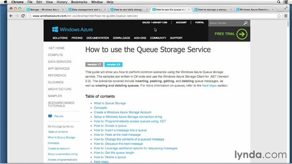 Azure storage services: Up and Running with Cloud Storage APIs