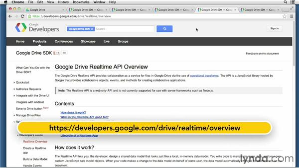 Google Drive: Up and Running with Cloud Storage APIs