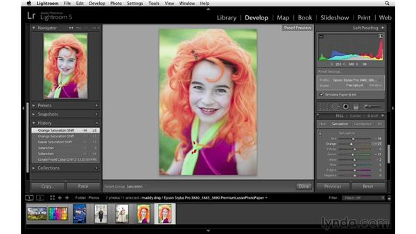 : Lightroom 5 Essentials: 05 Creating Prints and Books