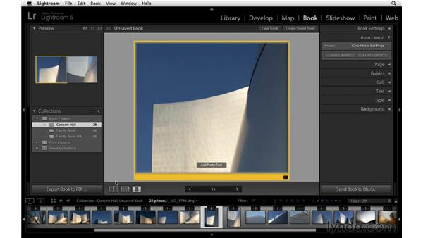 Using Auto Layout and viewing tips: Lightroom 5 Essentials: 05 Creating Prints and Books