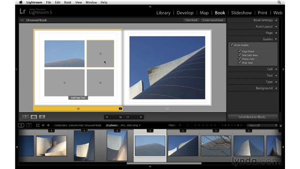 Swapping image position: Lightroom 5 Essentials: 05 Creating Prints and Books