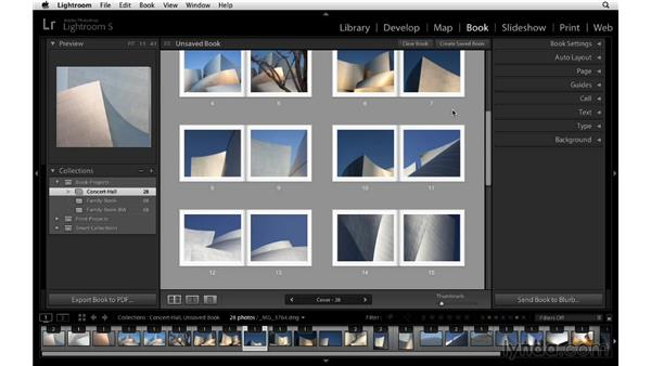 Changing image zoom on multiple images: Lightroom 5 Essentials: 05 Creating Prints and Books