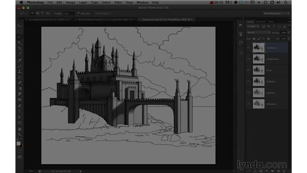 Overview of the course: Digital Matte Painting Essentials 1: Concept