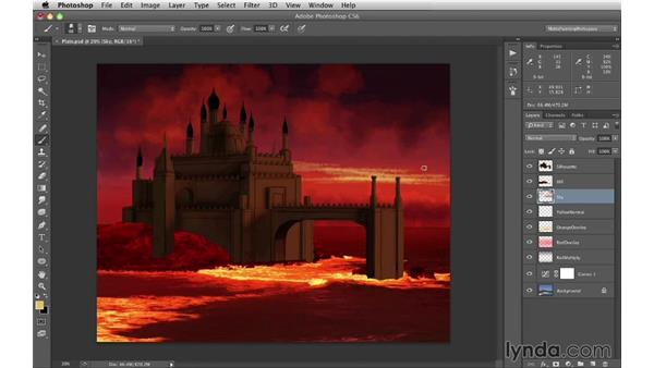 Painting the sky: Digital Matte Painting Essentials 1: Concept