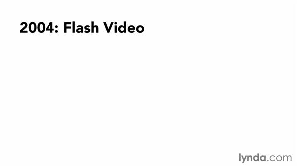 A short history of web video: Up and Running with HTML5 Video