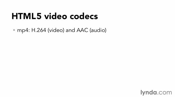 Investigating codecs: Up and Running with HTML5 Video