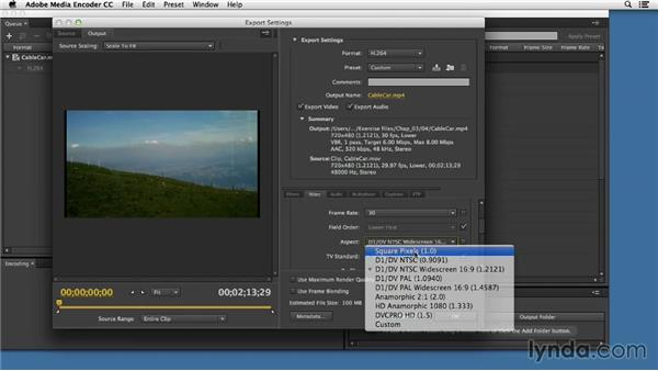Creating an MP4 video: Up and Running with HTML5 Video
